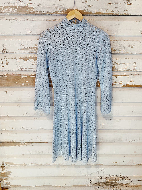 c.1960s Sugar Ice  Knit Dress