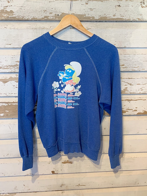 c.1980s Smurfette He Smurfs Me [S]