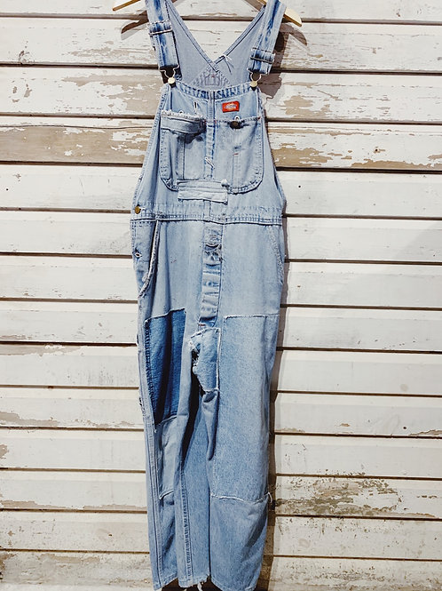"""c.1980s Dickies Patched and Mended [34""""]"""