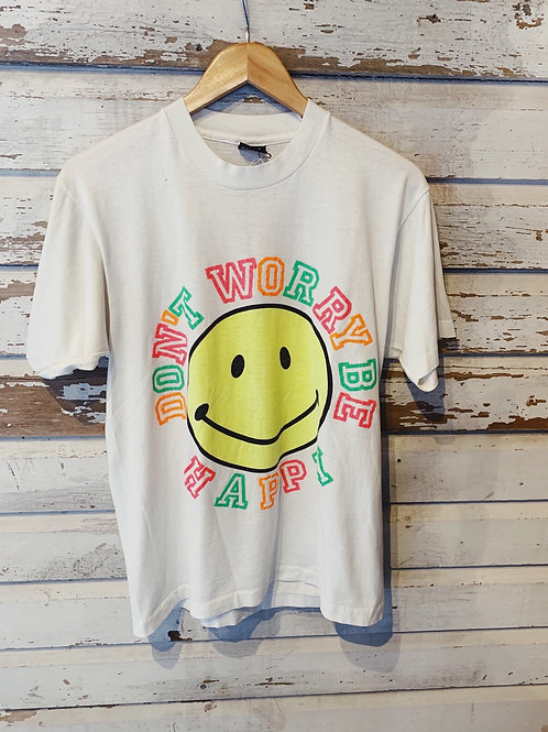 c.1980s Don't Worry Smiley Face [M]
