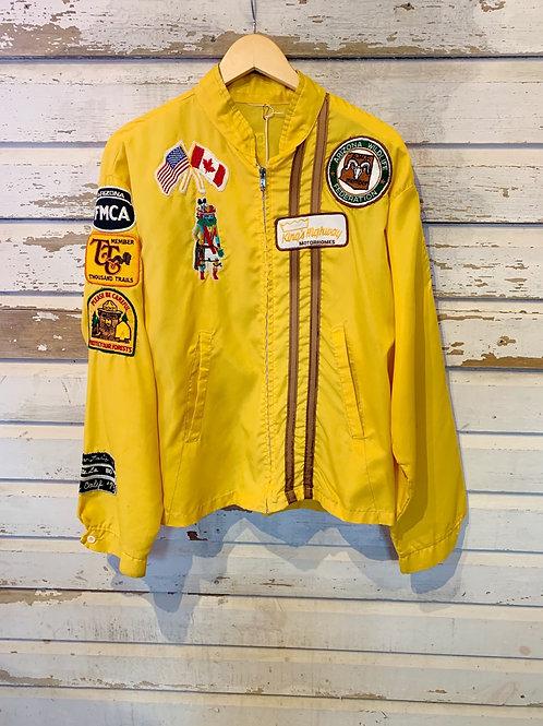 c.1970s Patchwork Souvenir Jacket [L]