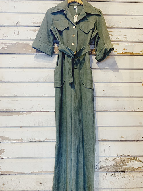 c. 1970's Belted Coverall [S]
