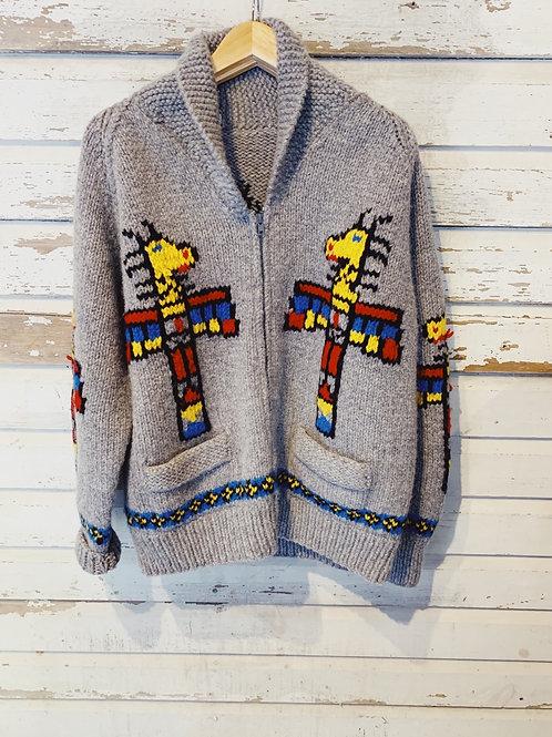 c.1950s Totem Pole Cowichan [L/XL]