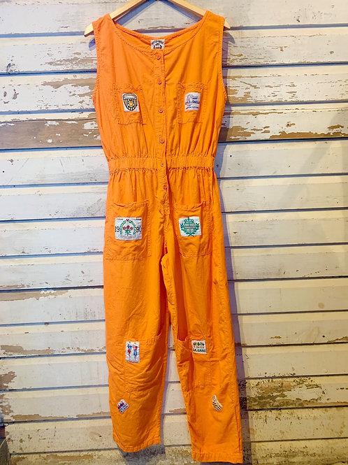 c.1990s Clementine Streetwear Jumpsuit [M]