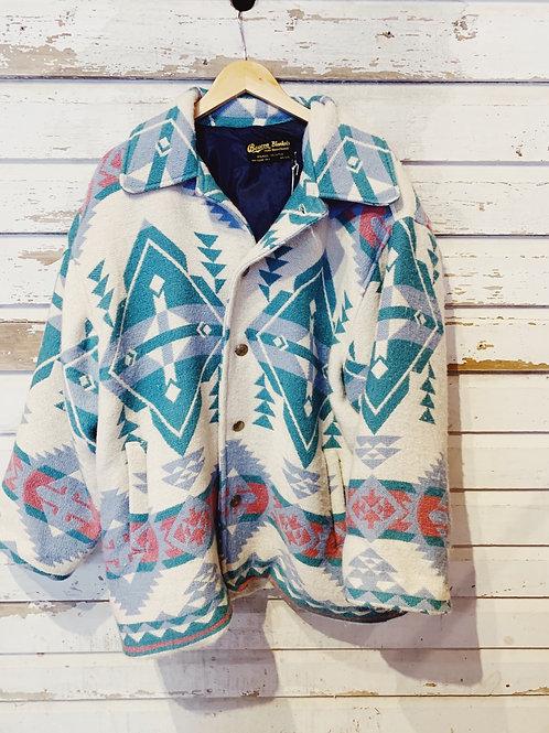 c.1980s Pastel Beacon Coat [XL]