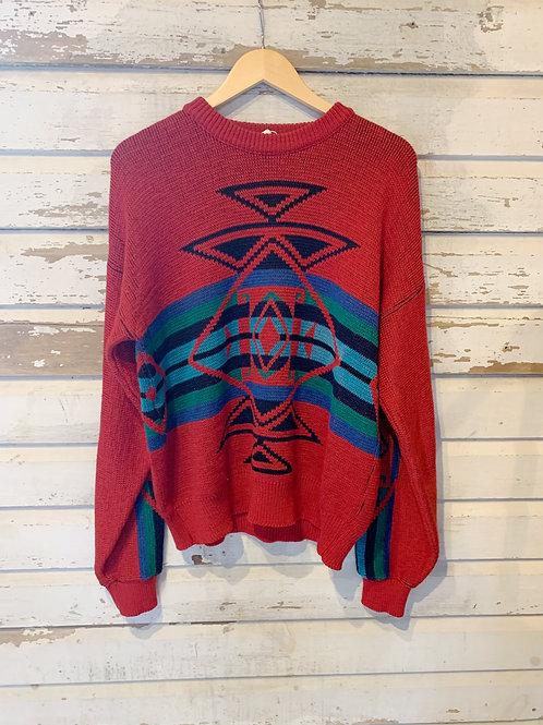 c. 1980's Pendleton Southwest Knit [M]