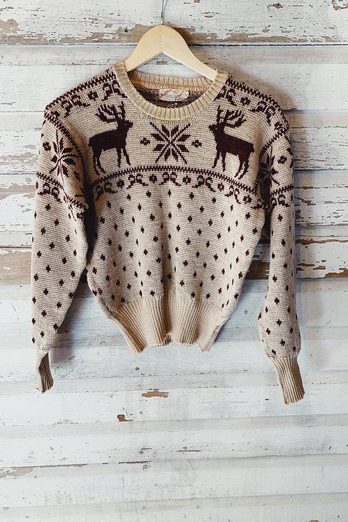 c.1940s Jantzen Ski Knit [S]