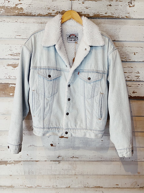 c.1990s Baby Blue Levi's Sherpa [S]