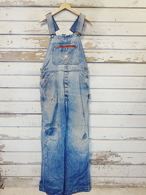 "c. 1950's Pointers Low Back Overalls [34"" Waist]"