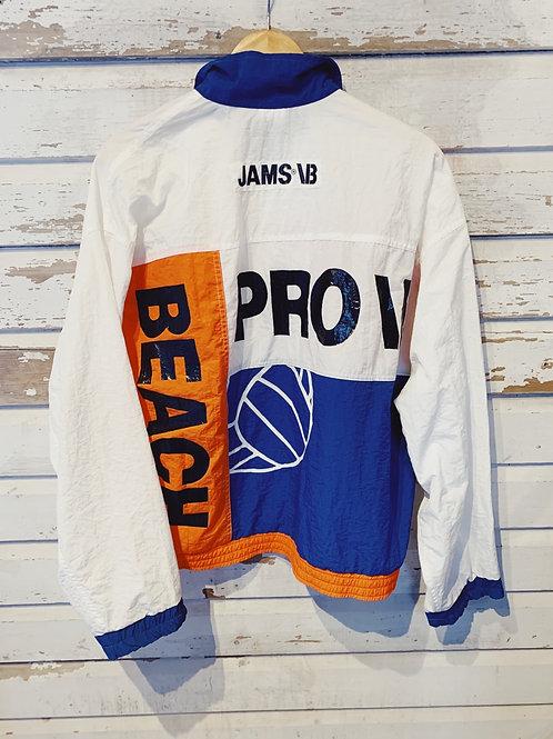 c.1990s Beach Volleyball Windbreaker [M]
