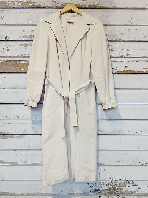 c. 1960's Halston Ultrasuede Trench [S]