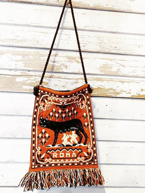 c. 1980's Roma Tapestry Bag