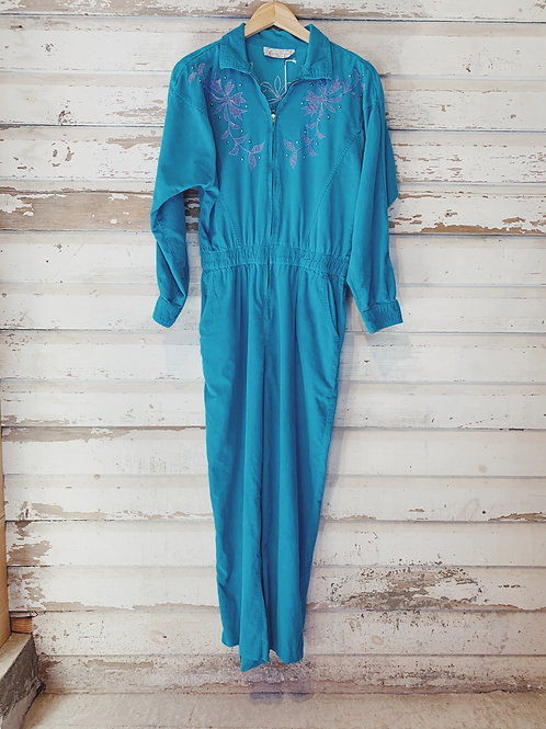 c.1980s Saint Germain Corduroy Coverall [M] RESERVED DM for waitlist