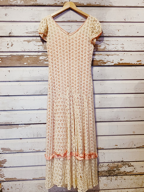 c. 1930's Buttercup Eyelet [S]