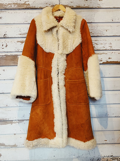 c.1970s Penny Lane Woodstock Shearling [XS] RESERVED