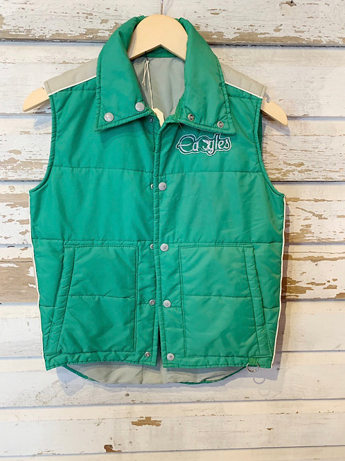 c.1980s Eagles Puffer Vest [S]