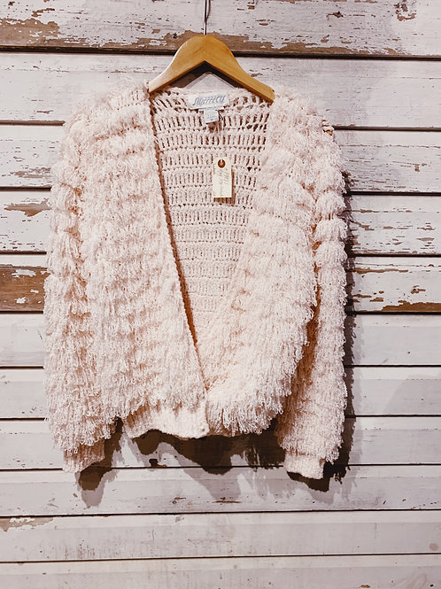 c.1980s Hand Crochet Loop Knit [M]
