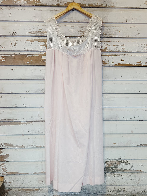 Vintage Pale Pink Nightgown [XL]