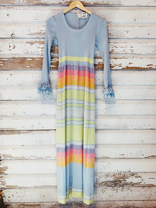 c.1960s Taste the Rainbow Disco Maxi [XS-M] RESERVED DM for waitlist