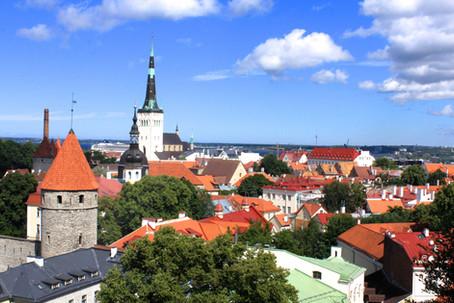 エストニアの街並み