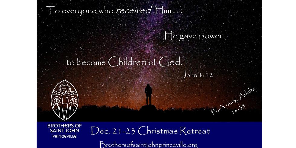 YA Christmas Retreat Dec 21-23  (18-35yrs)