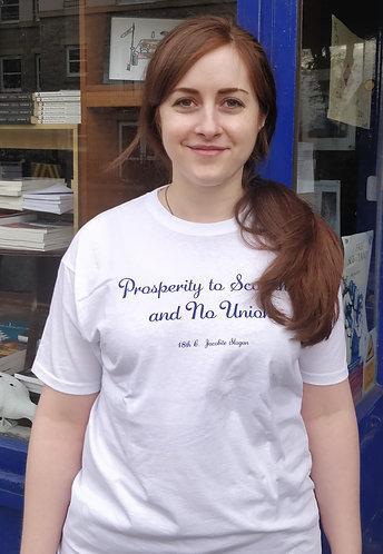 T-shirt - Prosperity to Scotland and No Union