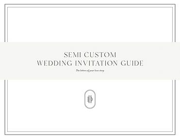 Semi-Custom Guide