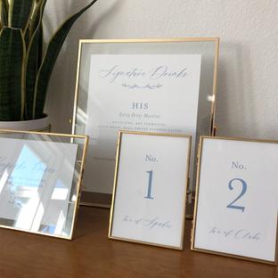 """4""""x6""""-8'x10"""" Gold frames"""