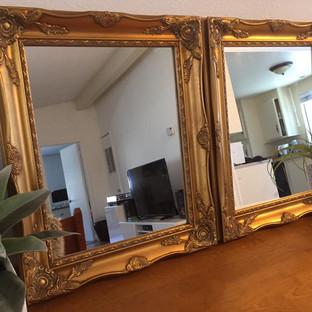 "11""x14"" Gold Mirrors"