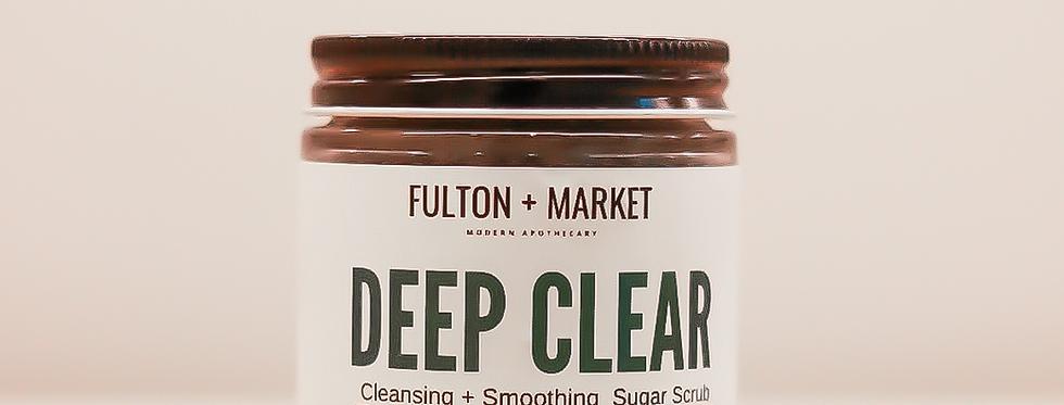 Deep Clear Sugar Scrub