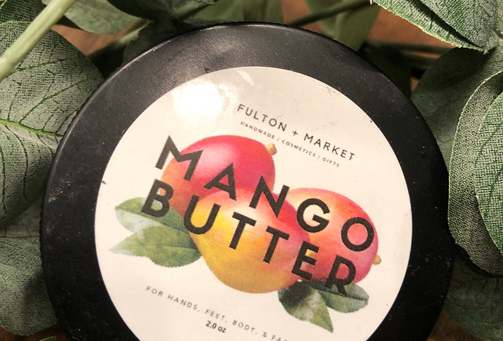 Mango Butter | Raw Solid