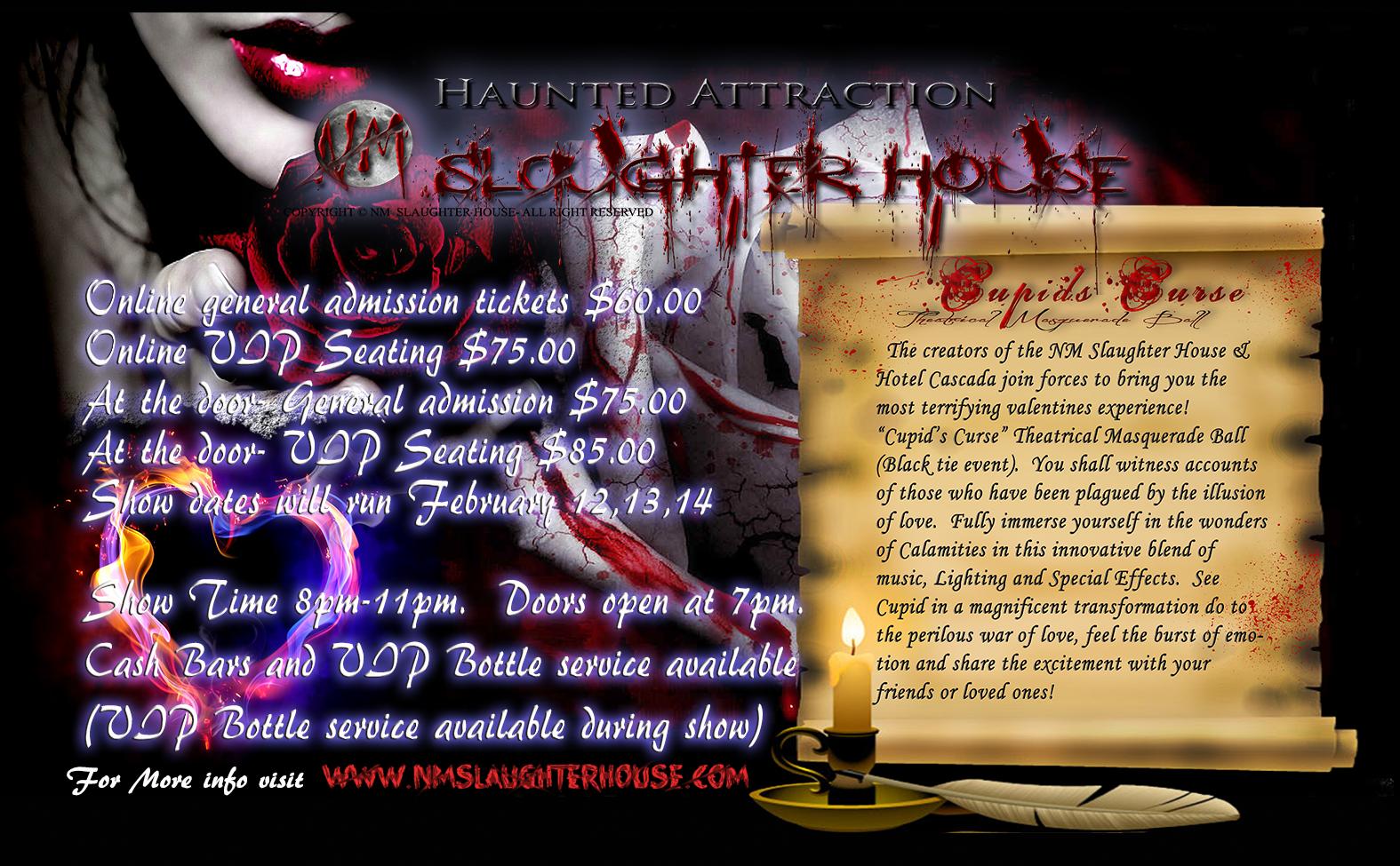 Cupid's Curse flyer