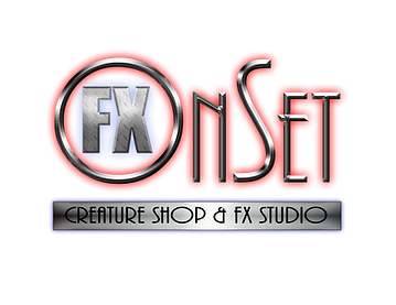 OnSet FX is New Mexico's Premier Creature Shop & FX Studio.   We are a full service Make-Up EFX studio; that designs and manufactures special make-up effects for film and television