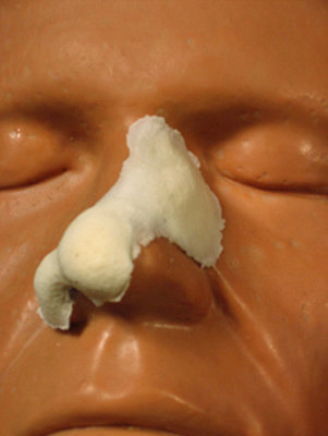 Sm. Broken Nose Rubber Wear