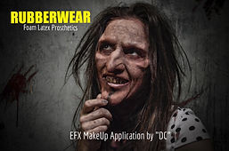 "Makeup by Cinematic EFX Artist Daniel ""DC"" Casillas"