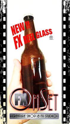 """Reel"" FX Glass Beer Bottle"