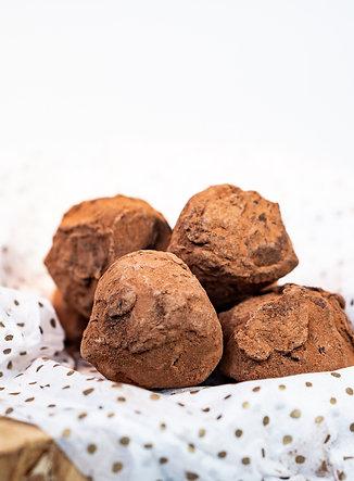 Chocolade slagroomtruffels - 10 stuks