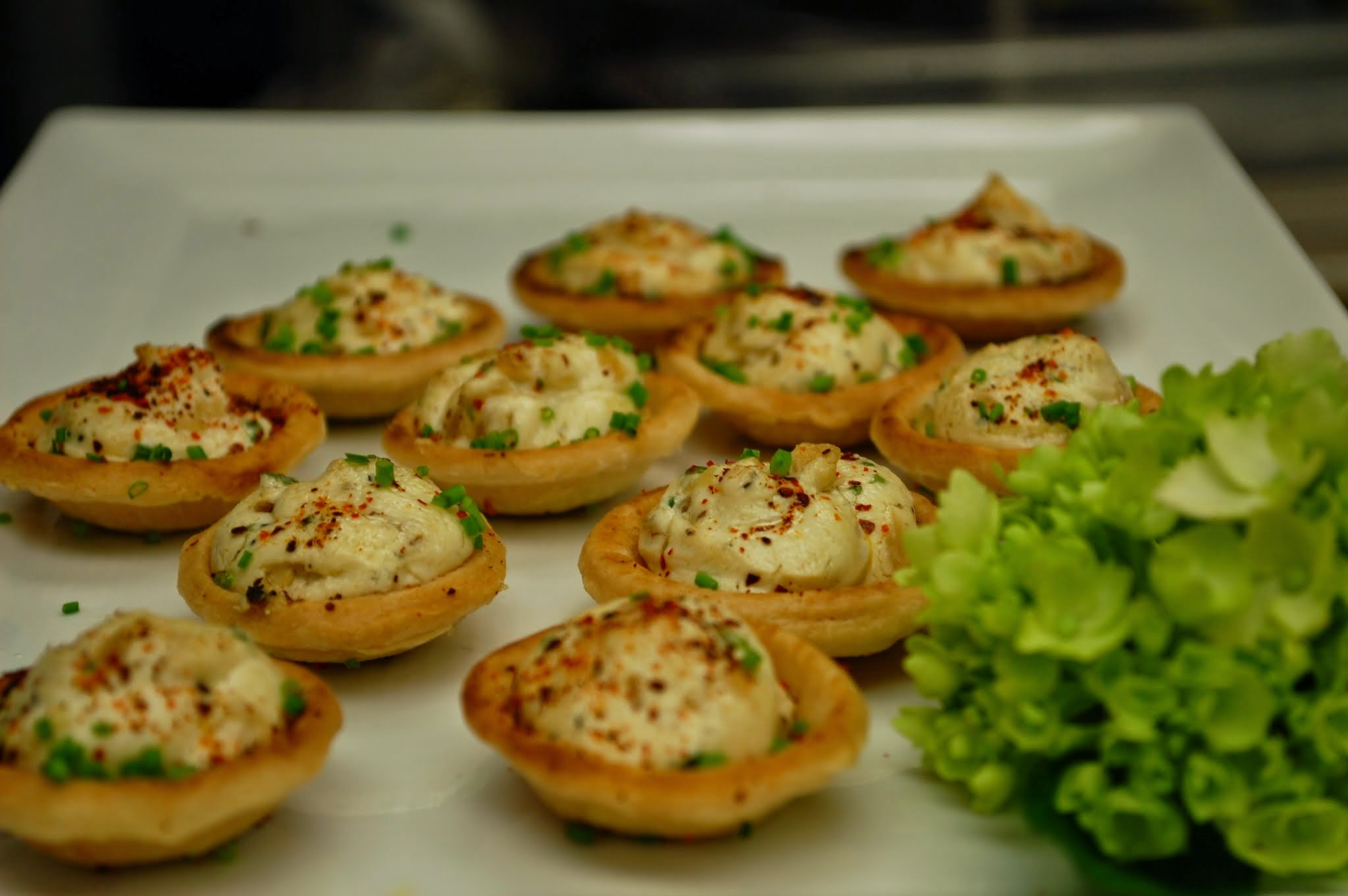 Onion & Goat Cheese Tarts