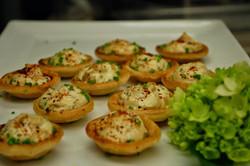 Onion & Goat Cheese Tarts