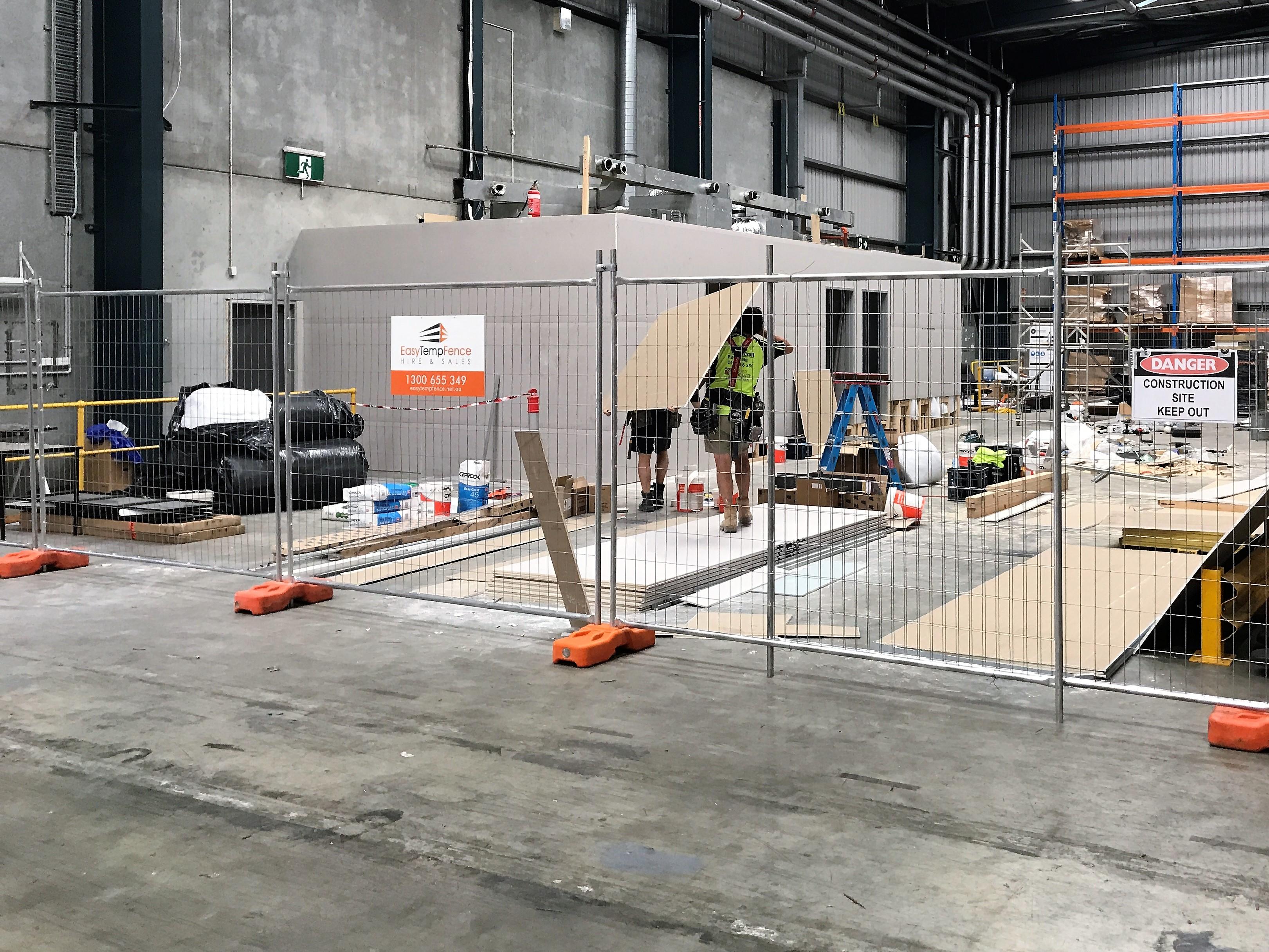 Building Site Temp Fence