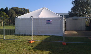 event fence hire
