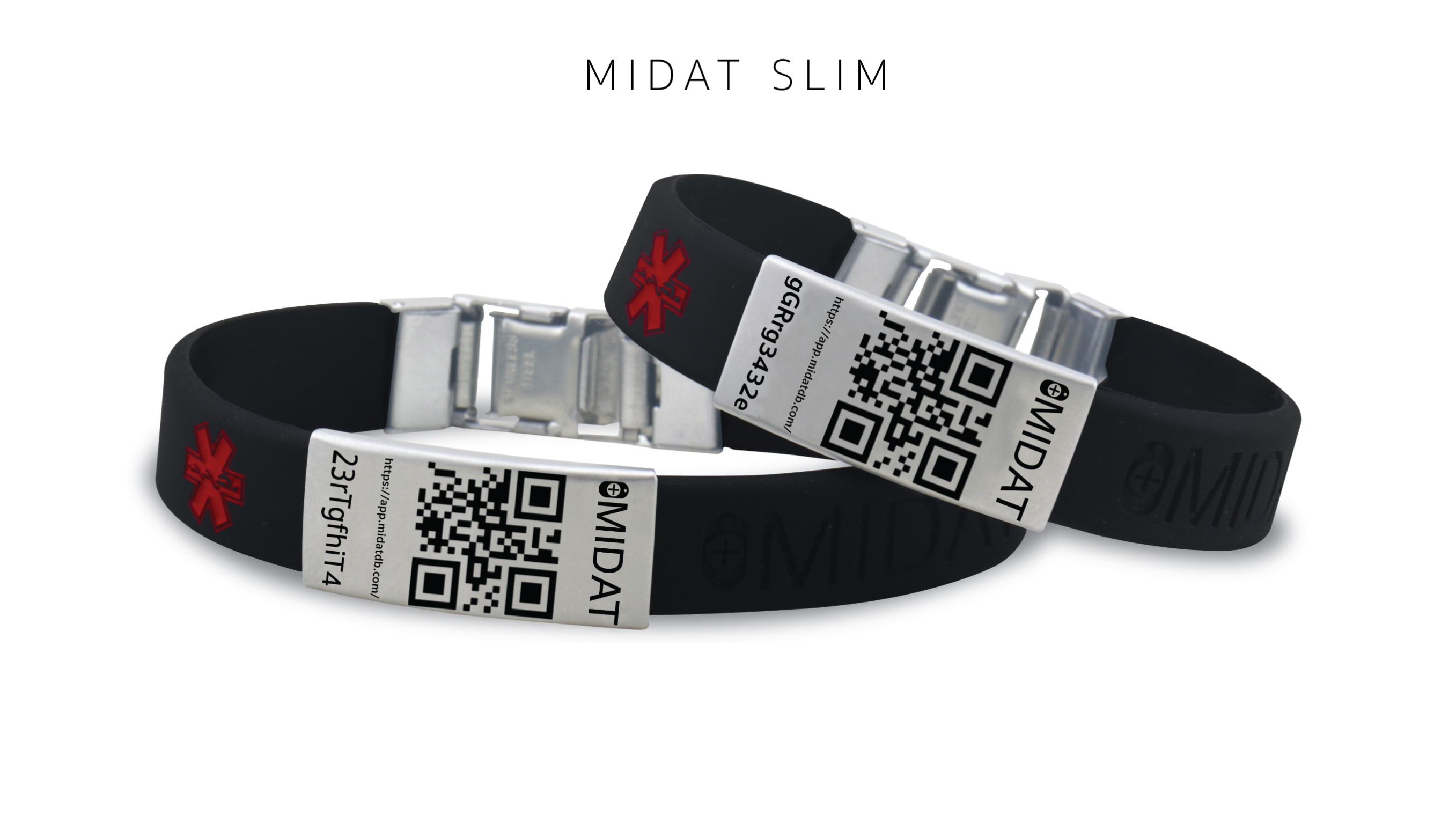 MIDAT SLIM qr code bracelet