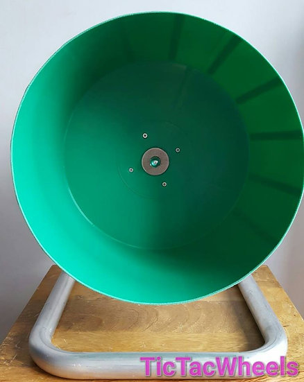 GREEN Bucket Wheel Metal Stand