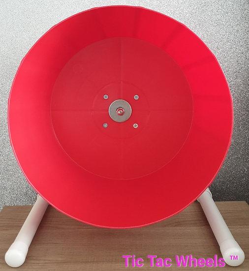 LARGE RED Bucket Wheel