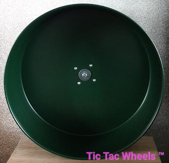 """10"""" Metal Wheel FIR GREEN"""