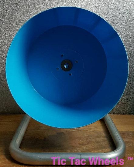 BLUE Bucket Wheel Metal Stand