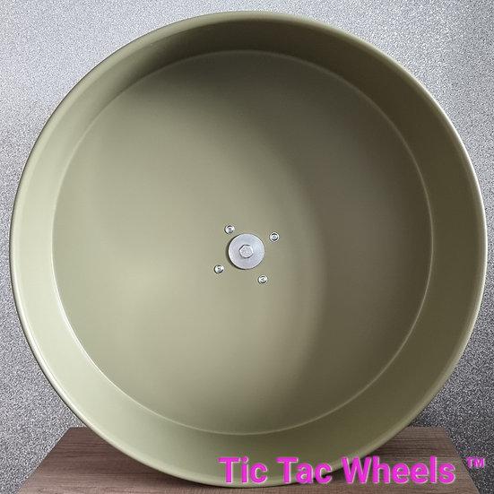 """10"""" Metal Wheel OLIVE"""