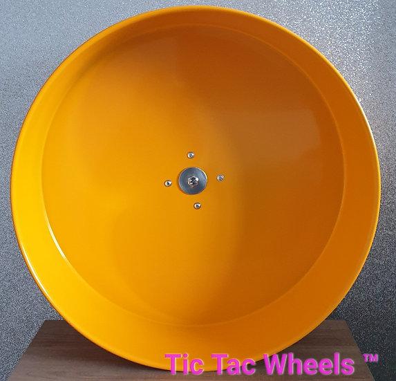 """12"""" Metal Wheel CLEARANCE -SUN YELLOW"""