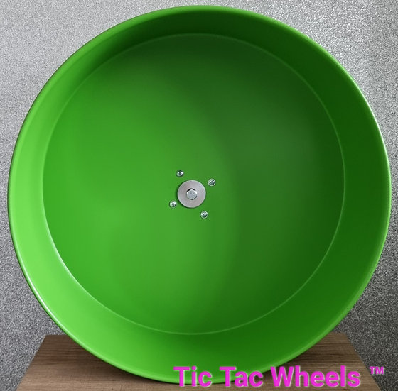 "12"" Metal Wheel GREEN"