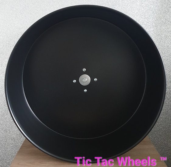 "12"" Metal Wheel CLEARANCE - BLACK"